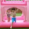 Water Fun Castle Inflatable Kiddie Pool with Pump, Pink - Pool Toys - 2