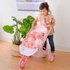 Stars Princess Deluxe Baby Doll Stroller, Pink/White - Dolls - 2