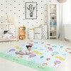Hot Air Balloon Animals Baby Crawling Play Mat, Blue/Grey - Developmental Toys - 3