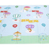 Hot Air Balloon Animals Baby Crawling Play Mat, Blue/Grey - Developmental Toys - 7