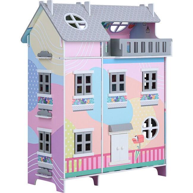 Sunroom Dollhouse with 11 Accessories, Muiticolor