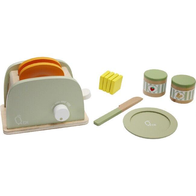 Little Chef Frankfurt Wooden Toaster Play Kitchen Accessories