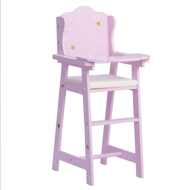 Twinkle Stars Princess Baby Doll High Chair - Dolls - 1