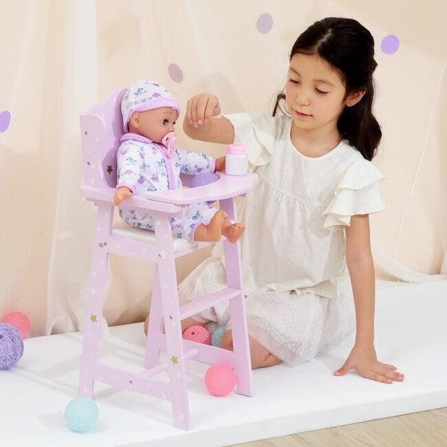 Twinkle Stars Princess Baby Doll High Chair