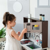 Little Chef Burgundy Classic Play Kitchen, Expresso/Black - Play Kitchens - 7