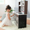 Little Chef Burgundy Classic Play Kitchen, Expresso/Black - Play Kitchens - 8