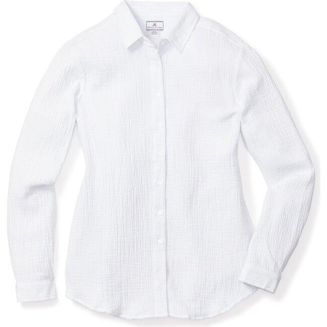 White Gauze Morgan Top