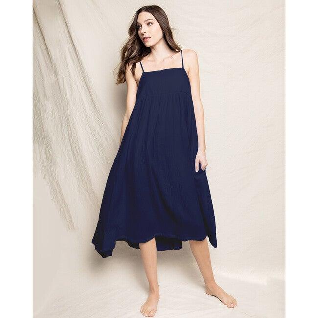 Navy Gauze Serene Night Dress