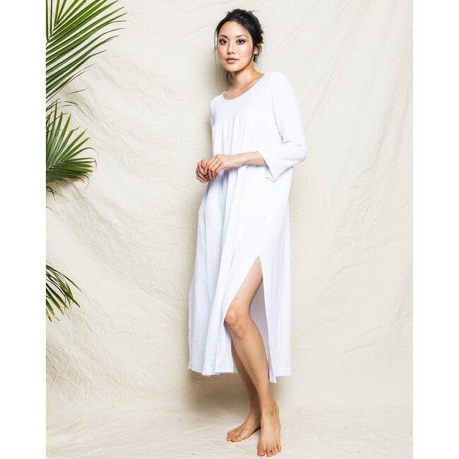 White Gauze Provence Night Dress