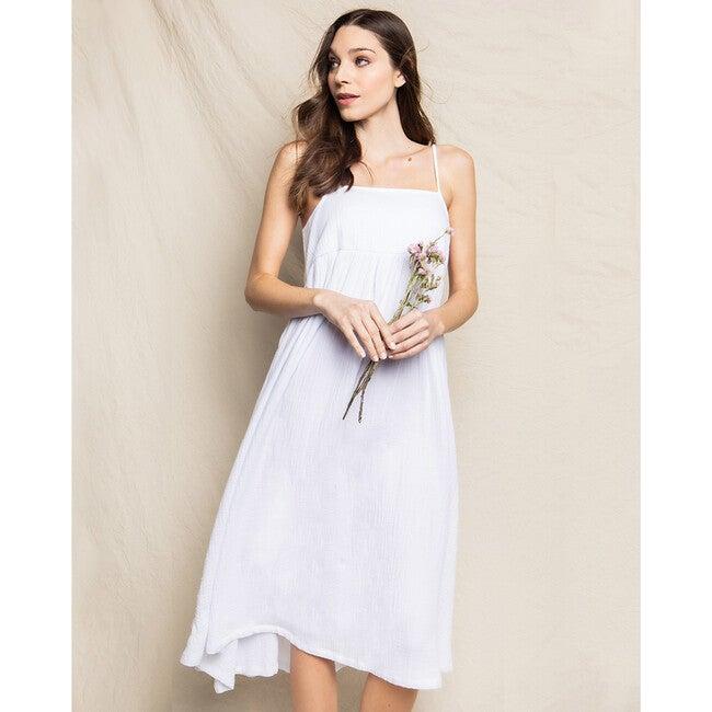 White Gauze Serene Night Dress