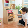 Little Chef Florence Classic Play Kitchen, Wood Grain - Play Kitchens - 2