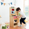 Little Chef Florence Classic Play Kitchen, Wood Grain - Play Kitchens - 5