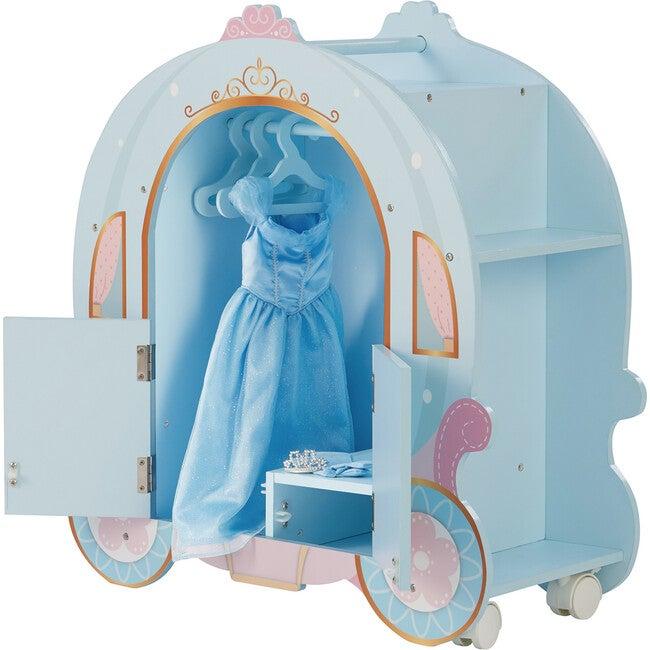 Princess Pumpkin Carriage with Closet and Dress - Dolls - 1