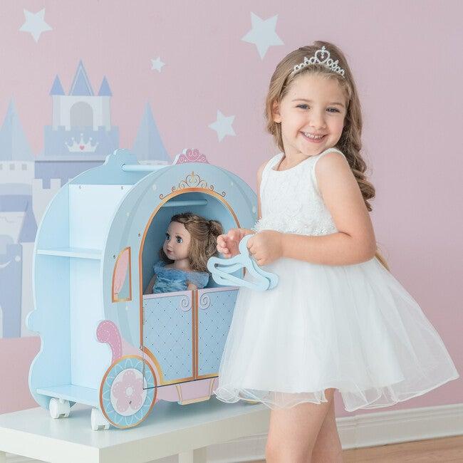 Princess Pumpkin Carriage with Closet and Dress
