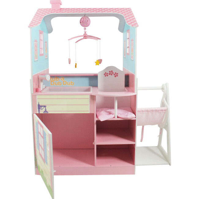 Olivia's Classic Doll Changing Station Dollhouse, Multi