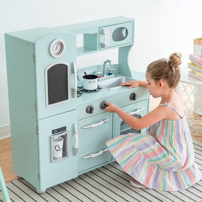 Little Chef Westchester Retro Play Kitchen, Mint