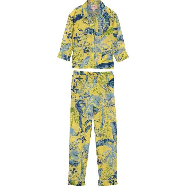 *Exclusive* Kids Moondust Pajamas, Lisbon Garden Sunshine