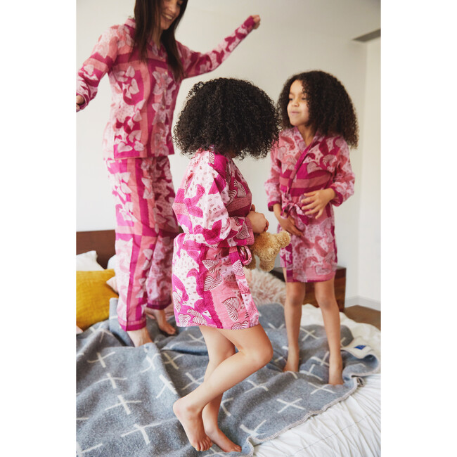 *Exclusive* Kids Robe, Lilac Sachet