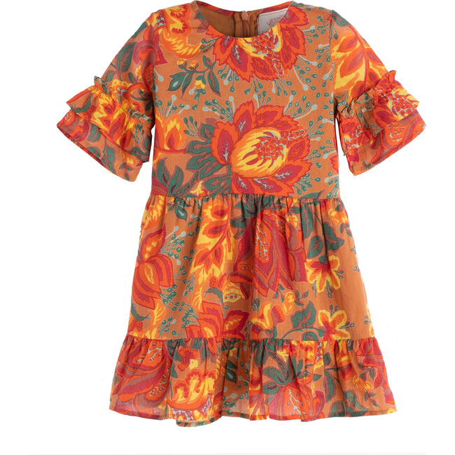 Chota Faith Dress, Meadow Sweet Caramel