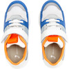 Running Style Sneakers, White & Blue - Sneakers - 4