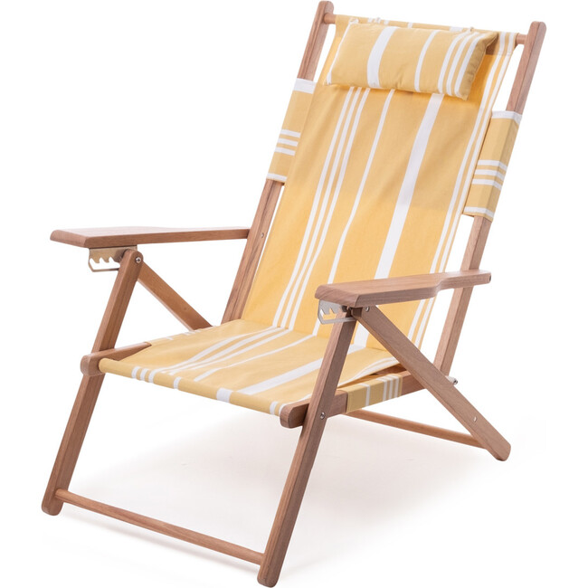 The Tommy Chair, Vintage Yellow Stripe