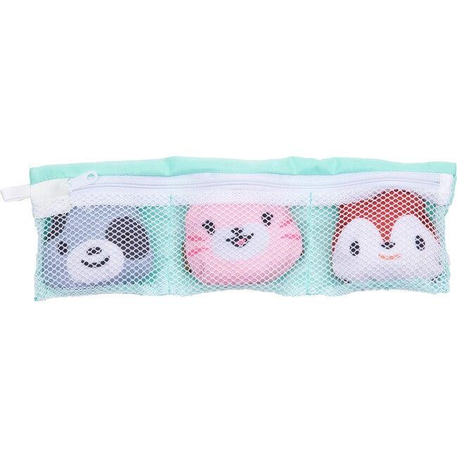 Kids Packable Wristlet Face Mask Buddies, 3 Pack