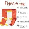 Flynn the Fox Socks - Socks - 3
