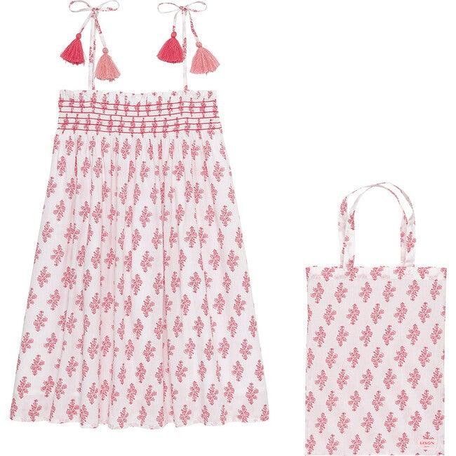 Luna Dress, Pink