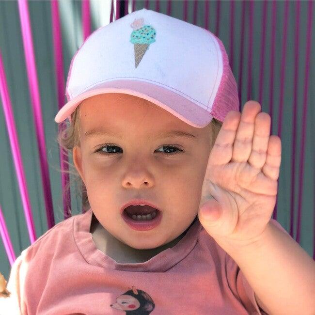 Ice Cream Sun Hat, Pink