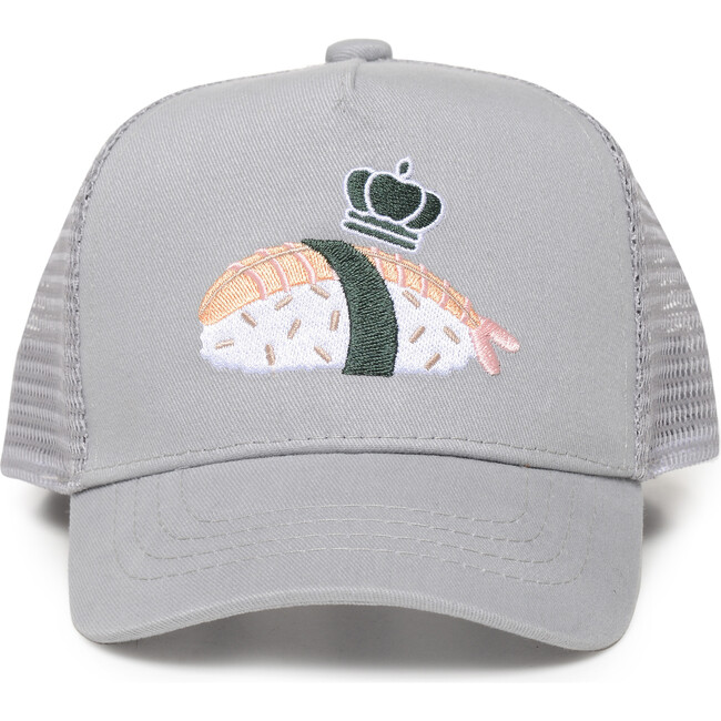 Sushi Sun Hat, Grey