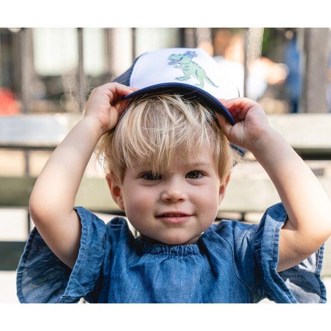 Dinosaur Kids Sun Hat, Navy