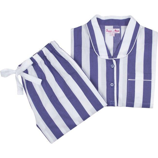 Women's Braddock Shirt + PJ Pant Set, Navy