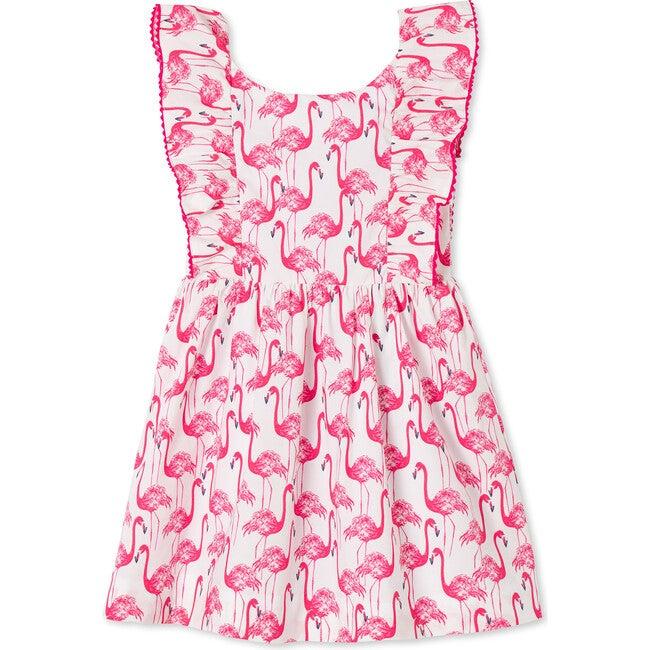 Coco Dress, Frolic Flamingos Print