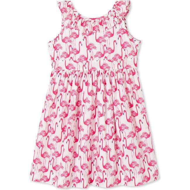 Avery Dress, Frolic Flamingos Print