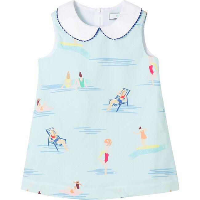 Maddie Dress, Beach Ball Print