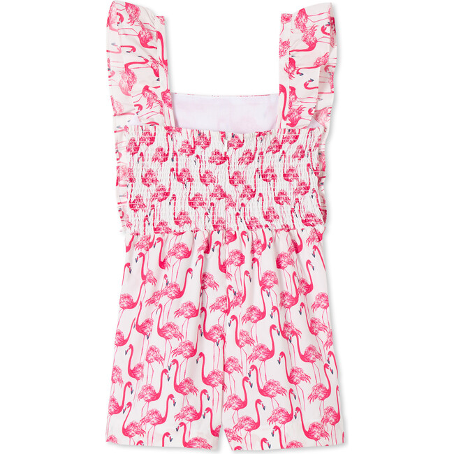Alexa Romper, Frolic Flamingos Print