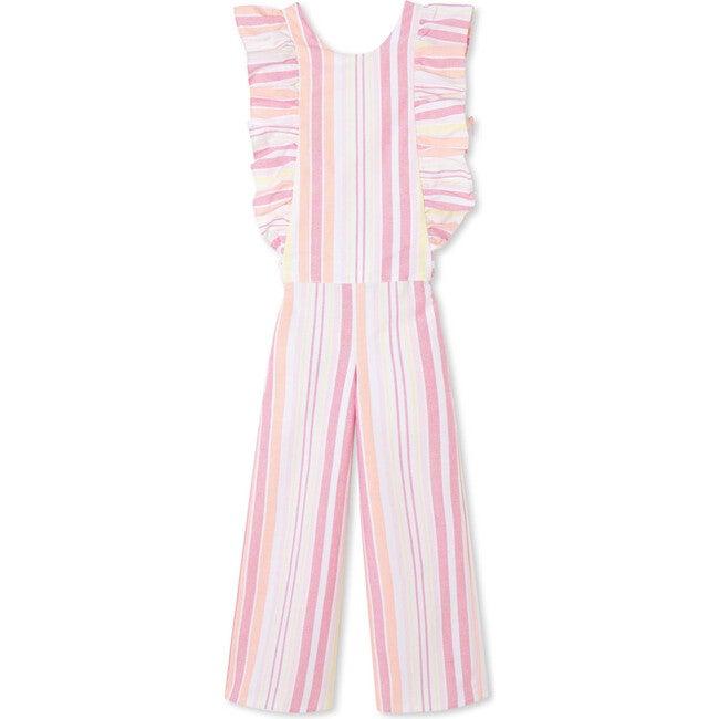 Whitney Jumpsuit, Sherbert Stripe