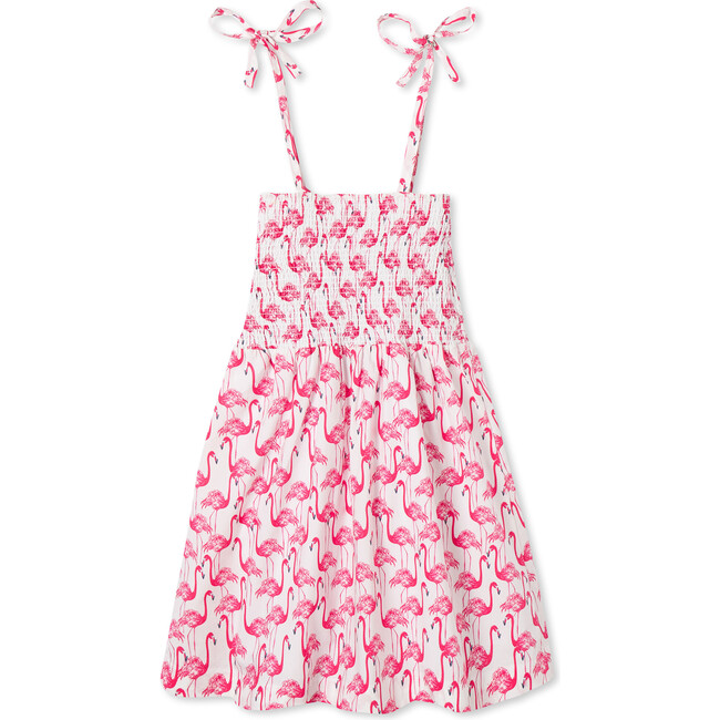 Hadley Dress, Frolic Flamingos Print