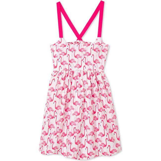 Cheney Dress, Frolic Flamingos Print