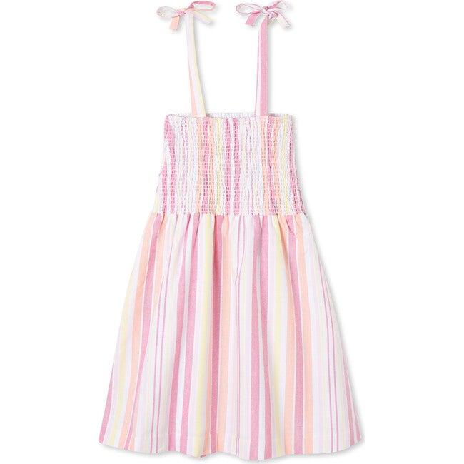 Hadley Dress, Sherbert Stripe