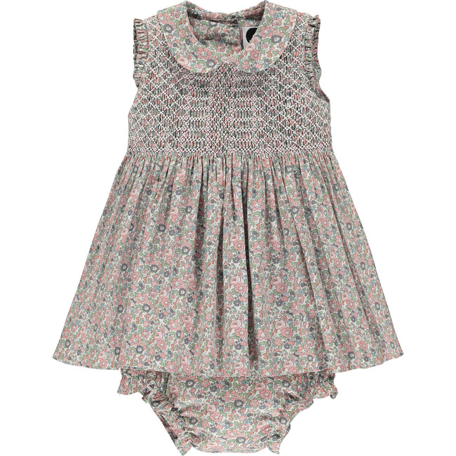 Classic Sleeveless Baby Dress, Primrose