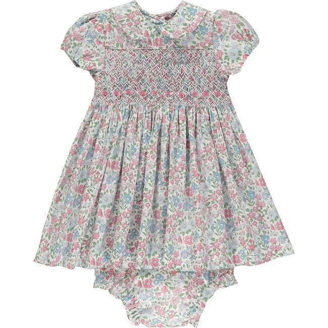 Liberty Classic Baby Dress, Terra