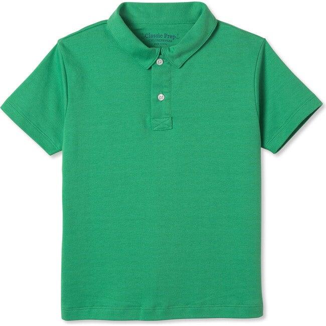 Henry Short Sleeve Polo, Blarney Green