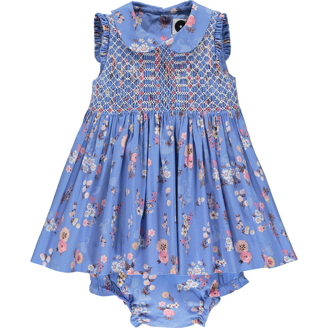 Classic Sleeveless Baby Dress, Cassia