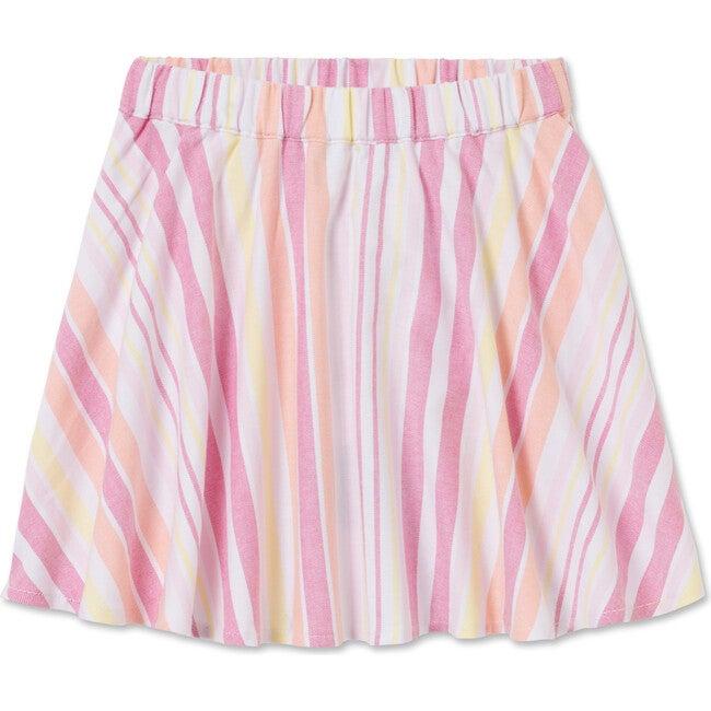 Sabrina Skirt, Sherbert Stripe