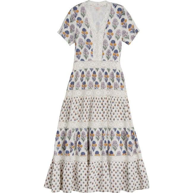 Women's Indy Dress, Multi Medallion Floral