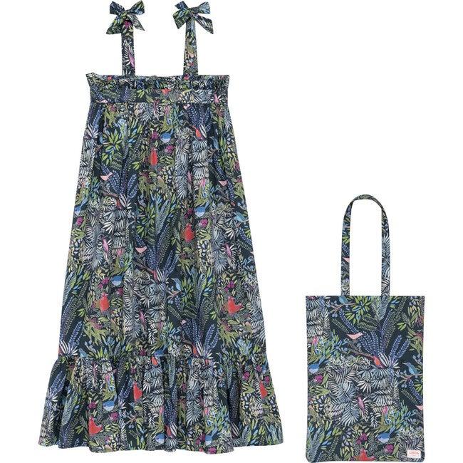 Jazz Long Dress, Multi
