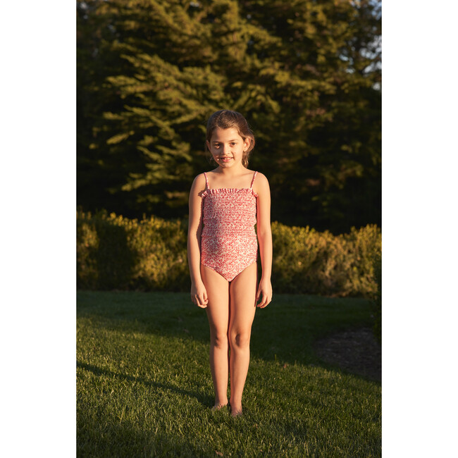 Ellie One Piece Swimsuit, Ditsy