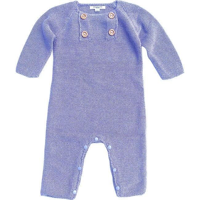Knit Romper, Lavender