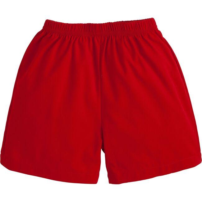 Basic Twill Short, Red